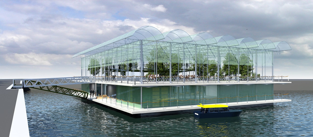Nuotraukaiš Floating Farm Rotterdam Facebook